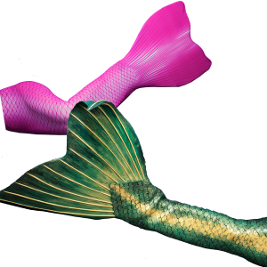 Get your professional fabric or silicone mermaid tail in the Mermaid kat Shop