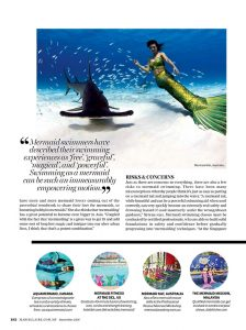 Mermaid Kat featuring Marie Claire Malaysia