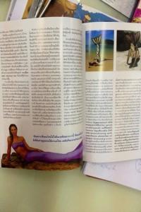 Mermaid Kat in Phuket Bulletin magazine