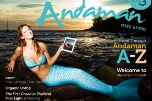 Mermaid Kat on cover of Andaman 360