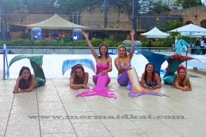 Mermaid Kat provides high class entertainers for events