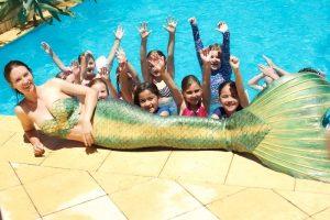 Mermaid Parties in Perth with Mermaid Kat