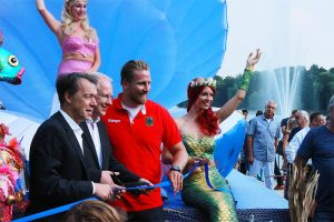 Mermaid entertainment in Germany