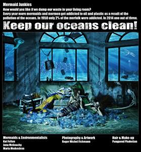 Mermaid junkies are dying of ocean pollution