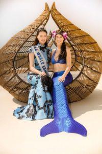 Mermaid meets Miss China 2016