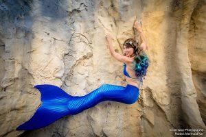 Mermaid models for photo shoots