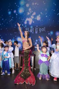 Mermaids for childrens parties in Perth