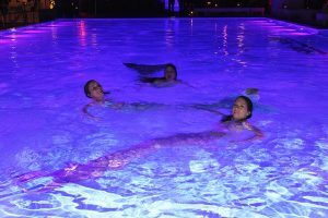 Mermaids performing at luxury events