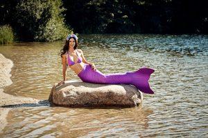 Professional Mermaid Kat in Germany