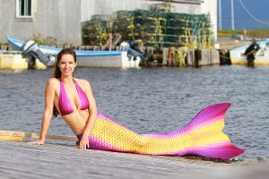 Professional Mermaid Model Kat by Ian Gray