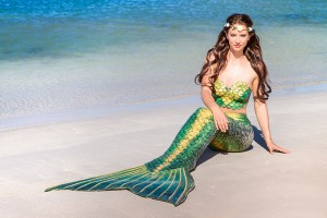 Professional mermaid model Kat in Perth, Western Australia