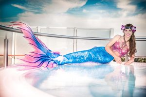 Professional mermaid model from Perth