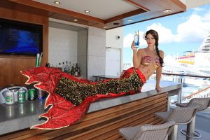 Professional mermaid models for hire in Perth