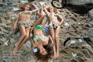 Sexy environmental campaign with Katrin Gray