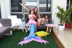 Zara's mermaid birthday party in Perth