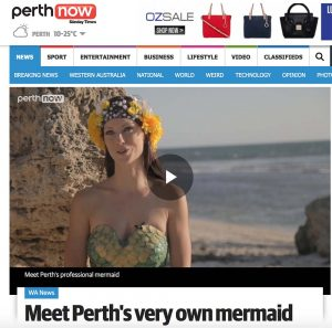 Interview with professionel Mermaid Kat from Perth