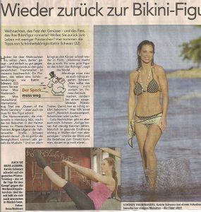 Katrin Gray - Training tipps for her model body