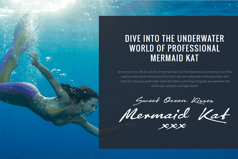 Launching of Mermaid Kat's New Website