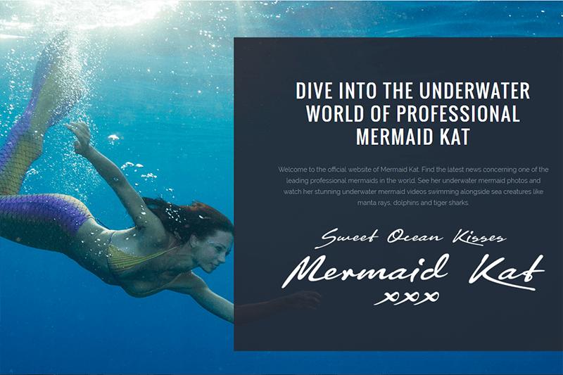 Launching of Mermaid Kat's New Website