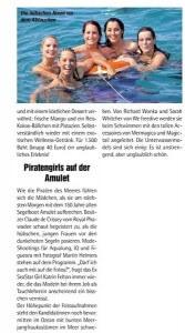 Mermaid academy in the German media