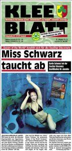 Miss Germany International becomes underwater model