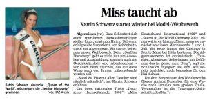 Model Katrin Gray becomes Miss germany International