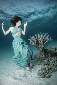 Underwater Fashion Photography Shoot with Model Kat
