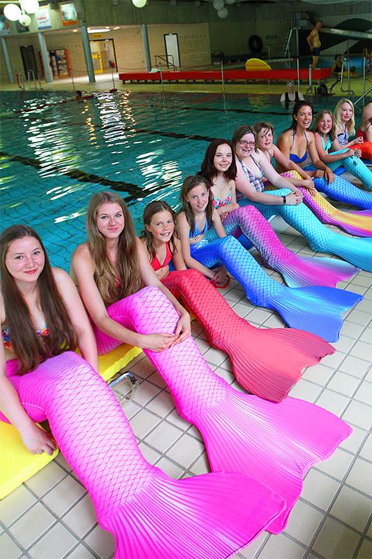 Become a mermaid in Kats mermaid academy