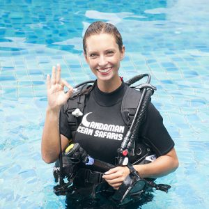 Underwater modeling tips - have the right training