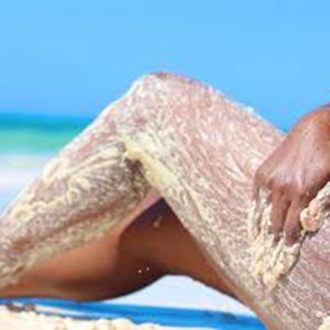environmental friendly beauty tips for the beach uns sand for a scrub