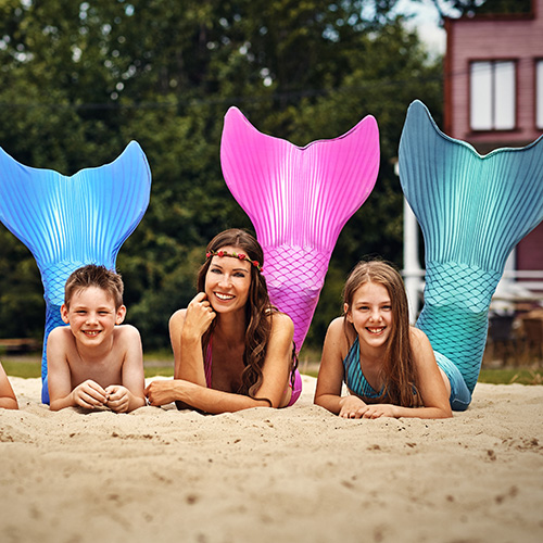 superwise your children while mermaiding
