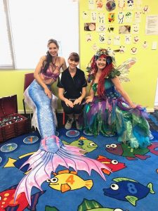 Mermaid Kat at Derrick Ernst Neigbourhood Centre Grand Opening