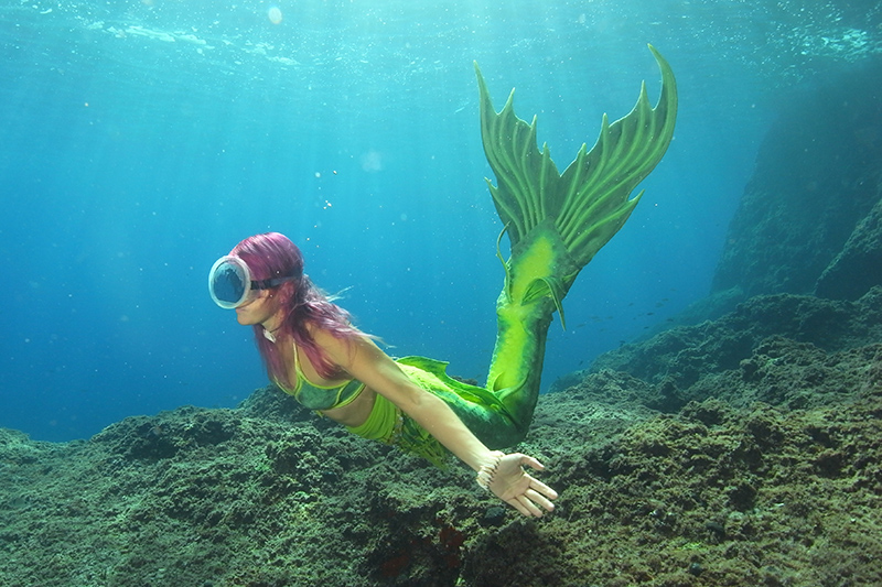 Sirena Francesca diver and mermaid