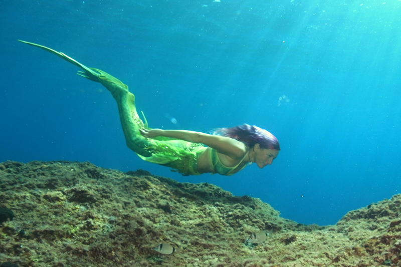 Sirena Francesca mermaid instructor from Italy