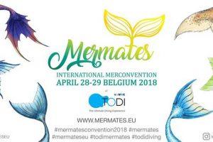 Mermates Mermaid Convention in Belgium