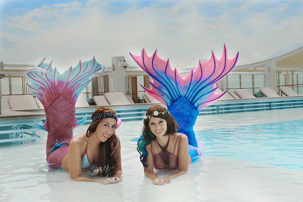 Perth Mermaids Kat and Meggi at Coogee Live Events