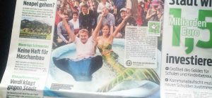 Professional mermaid from Perth in international media