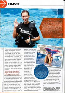 Real Mermaid Kat 8 Day Magazine Singapore