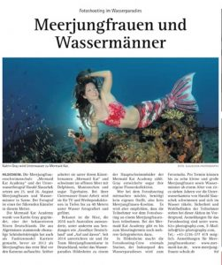 Mermaid Kat is an Underwater Model