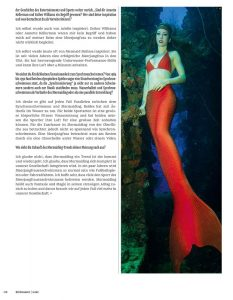 Underwater Model at Truk Lagoon - Mermaid Kat photographed by Ian Gray for Bluescape Magzine