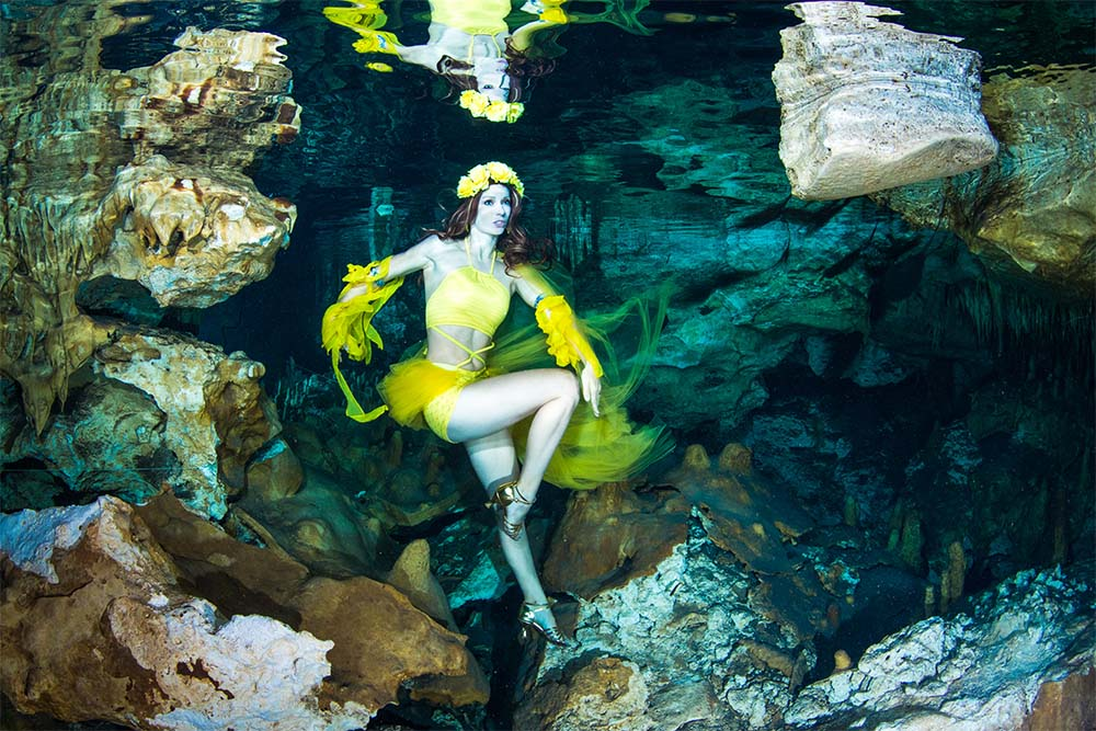 Mermaid Kat is an international underwater model based in Perth Australia