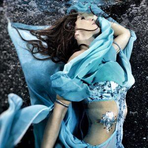 Underwater fashion model from Perth Mermaid Kat