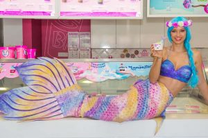 Mermaid for Baskin Robbins Australia