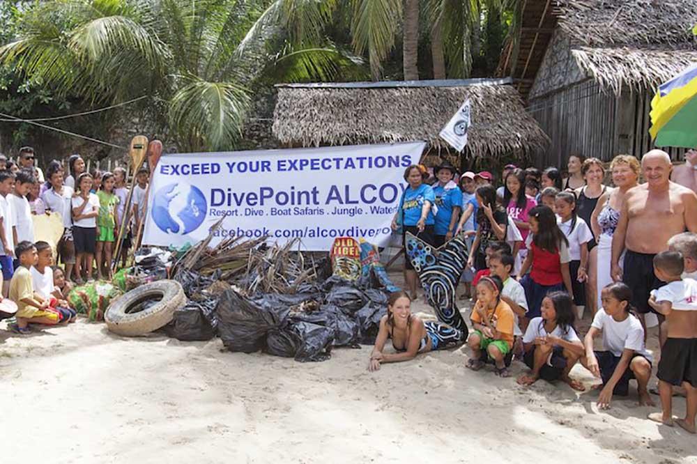 Organise beach clean ups