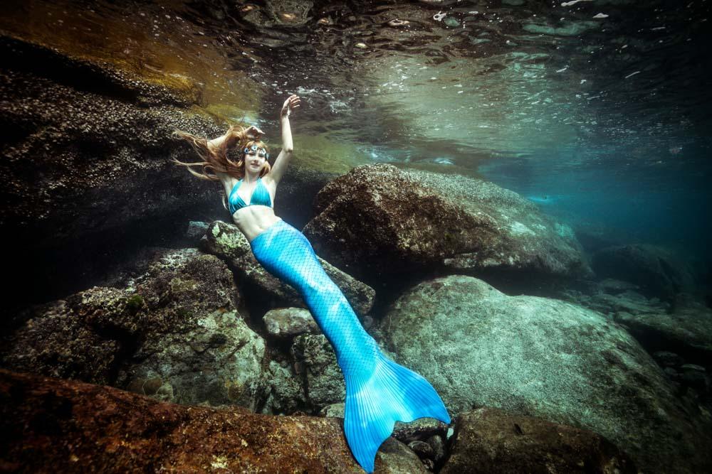 Mermaid Week 2020 in Maldives