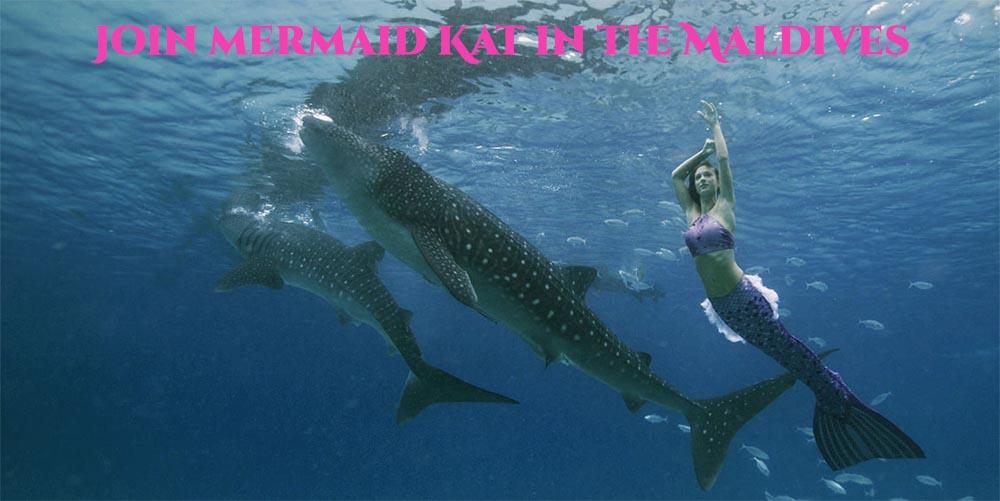 Mermaid Workshop in the Maldives