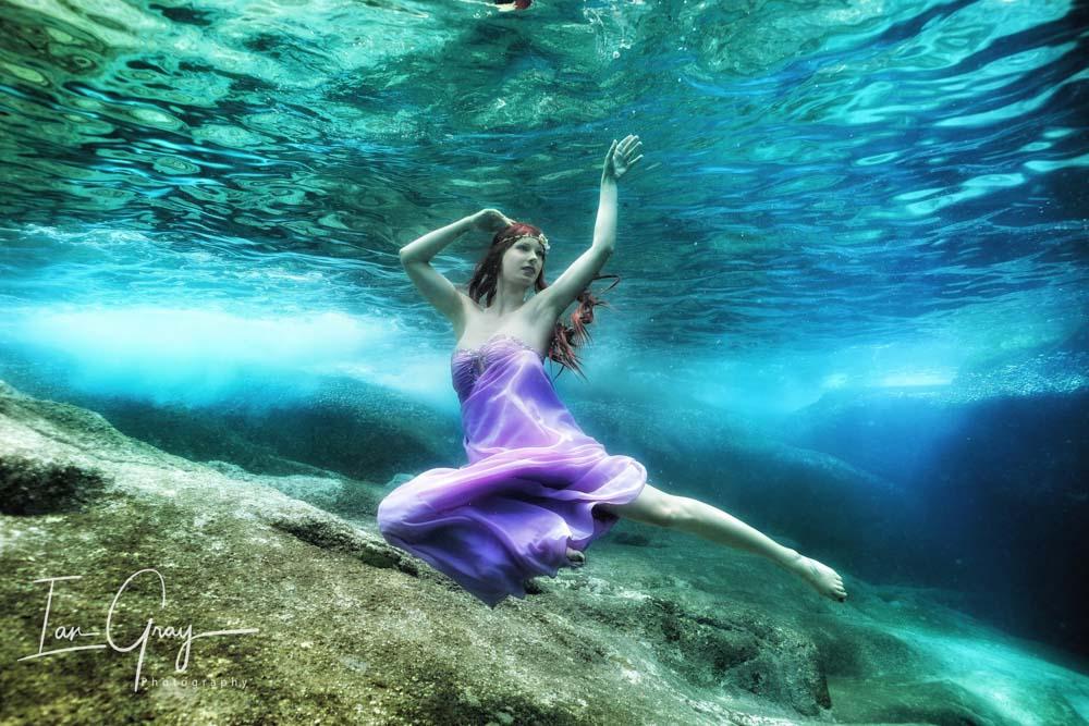 Underwater Model Workshop in Maldives