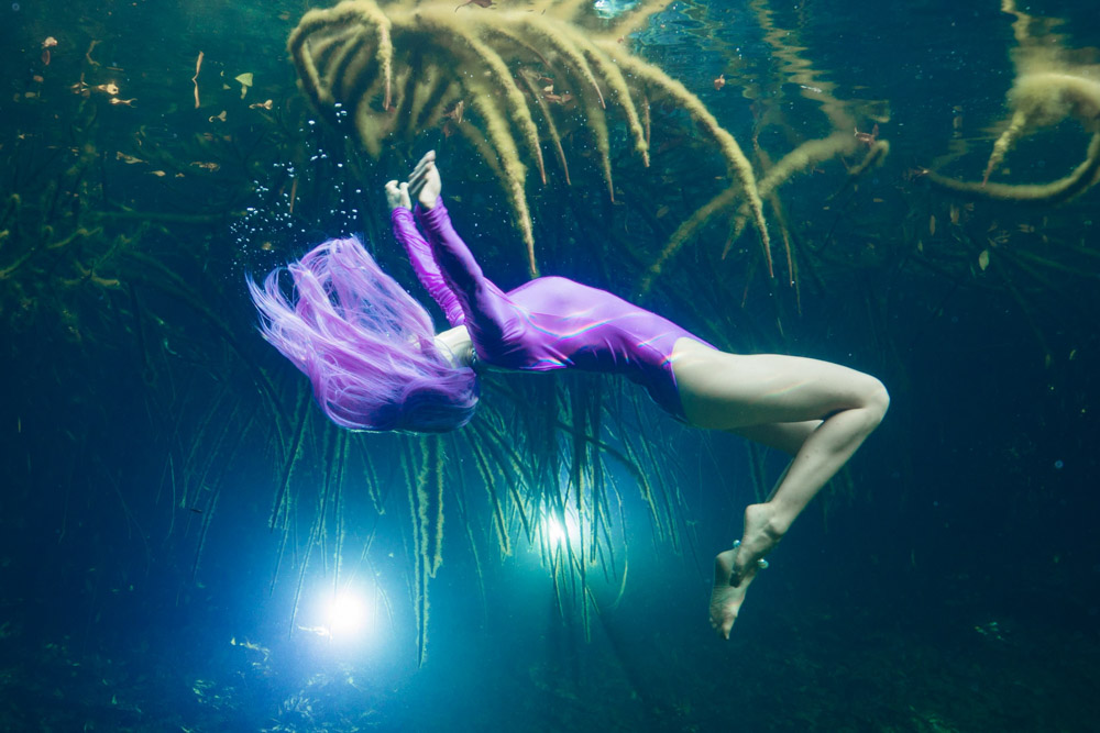 Mermaid Week Mexico Tulum Cenotes