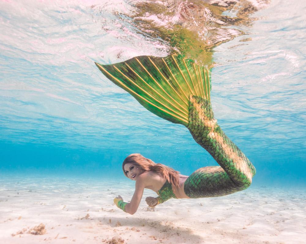 Mermaid workshop Maldives