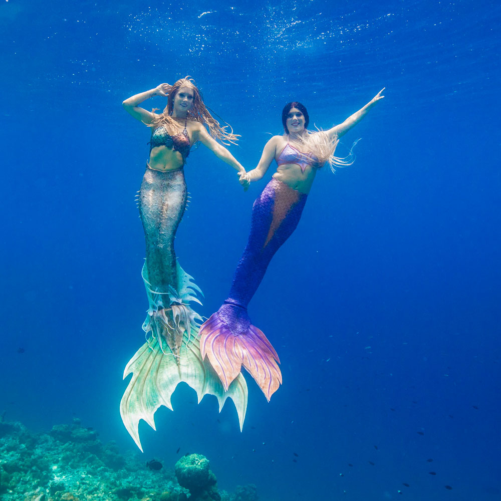 Get your mermaid tail at Mermaid Kat Shop